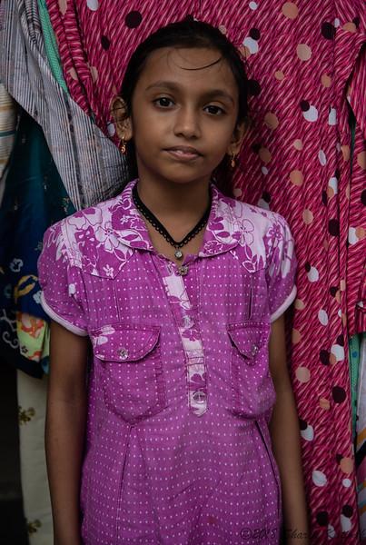 Girl in Marketplace, Kuching