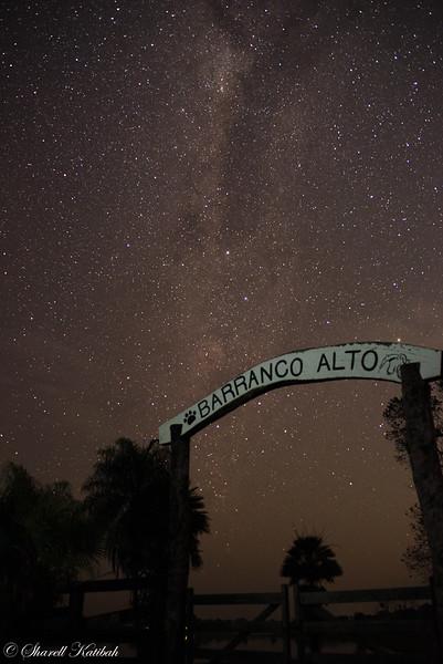 Southern Sky and Milky Way, Fazenda Barranco Alto