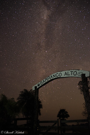Southern Sky and Milky Way, Fazenda Barranco Alto