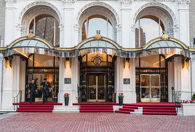 Entrance, Mark Hopkins Hotel