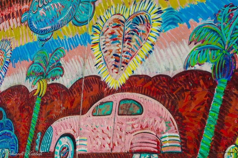 Freeway mural