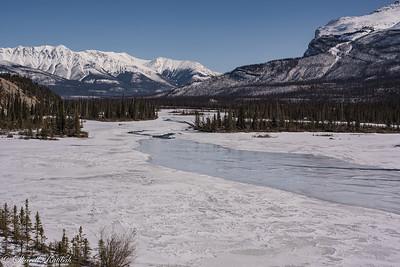 Saskatchewan River, Icefileds Parkway