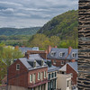 Looking down on Harper's Ferry