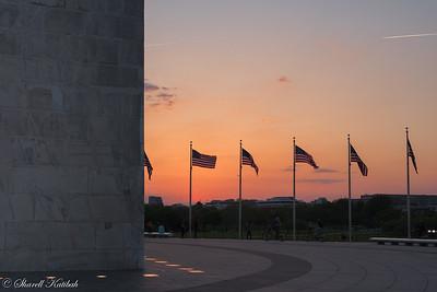 Washington Monument at Sunset #3