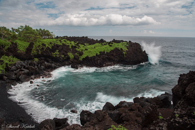 Ocean in Motion, Wai'anapanapa State Park