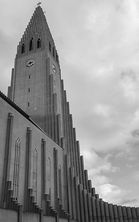 Hallgrimskirkja, Black and White