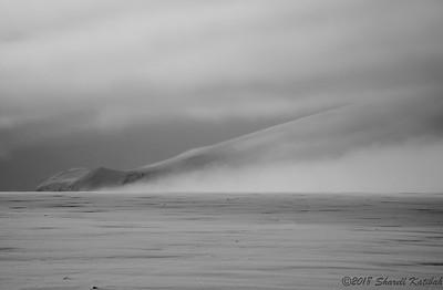 Clearing Storm, Langjokull Glacier