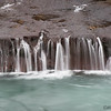 Waterfalls at Hraunfosser