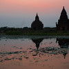 Temples of Bagan at Days End