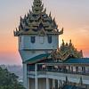 Sunrise, Shwedagon Pagoda, Yangon