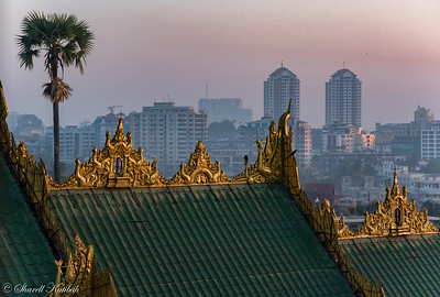 Yangon at First Light