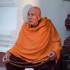 Monk with Prayer Beads, Shwedagon Pagoda