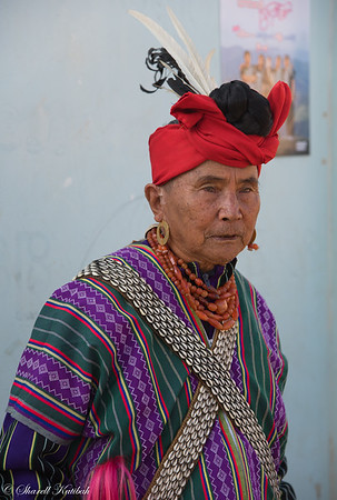 Man in Traditional Dress, Mindate, Chin State