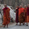 Monks After Morning Prayers