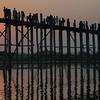 U-Bein Bridge at Sunset, Mandalay
