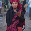 Woman Shopper at Intha Market
