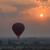 Sunrise over Bagan from a Hot-Air Balloon