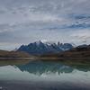 Lago Amarga on a Windless Day