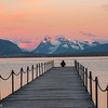 Watching the Sunrise, Puerto Natales