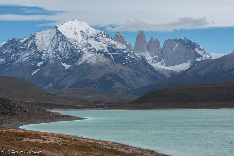 Laguna Amarga and Torrres del Paine
