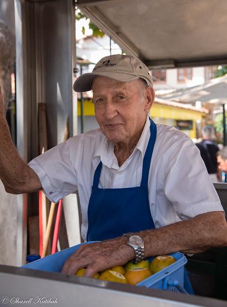 Juice Seller #1, Puerto Vallarta