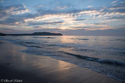 Sunset with Clouds, Playa Mita