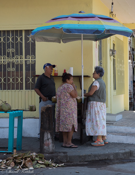Street Corner Gossip, Puerto Vallarta