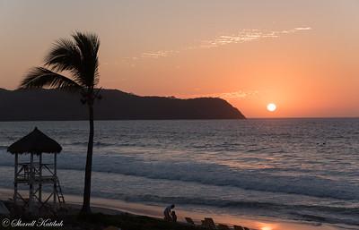 Orange Sunset, Playa Mita