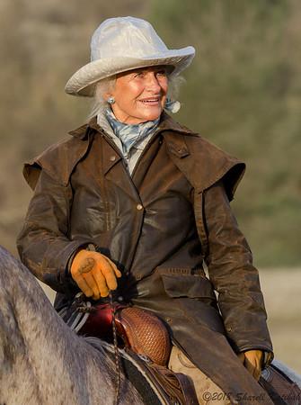 Audrey in Australian Leather