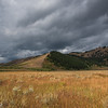 Horsetail Butte and Approaching Storm