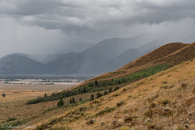 Storm Coming in Quickly, From Blacktail Butte