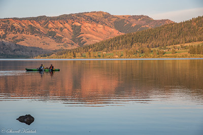 Kayaking in the Golden Light