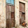 City Street scene, Habana