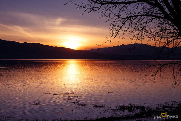 Another Utah Lake Sunset