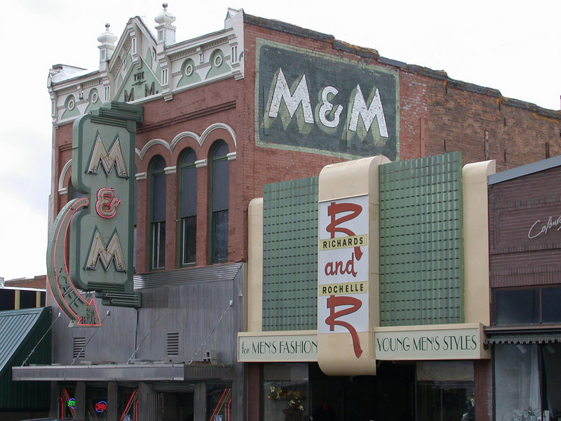 M & M and R & R, Butte, Montana