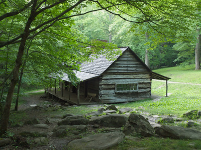July - Ogle Homestead, Great Smoky Mountains National Park, Tennessee