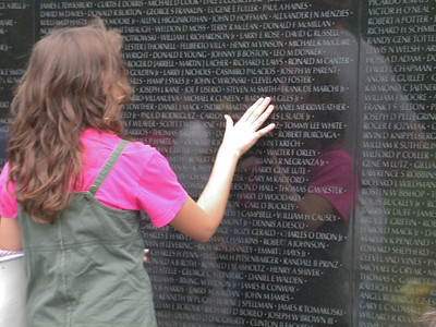 April - Vietnam Veterans Memorial, Washington, D.C.