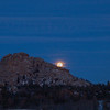 New Year's Blue Moon. December 31, 2009. Vedauwoo, Wyoming