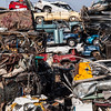 Salvage junkyard. Laramie, Wyoming