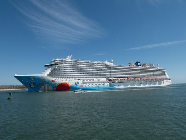 Cruise ship, Cocoa Beach, Florida