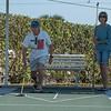 Richard and Tina, serious shuffleboard competitors