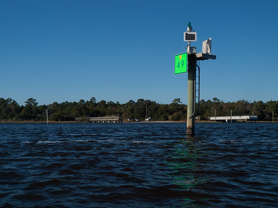 Morris Landing, at the end of Sound Road in Holly Ridge, NC.