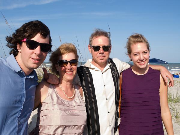 Augie, Liz Ekwall, Jeff, and Izzy Cummings