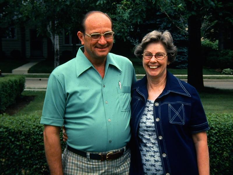 Bob and Mary Jansen. 1977.