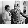Mary and Bob at Bob's retirement. 1984.