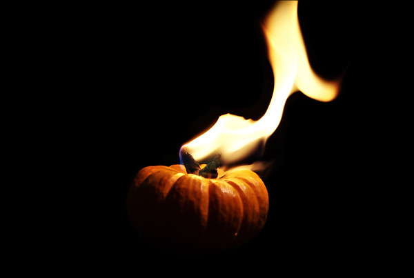 fired pumpkin