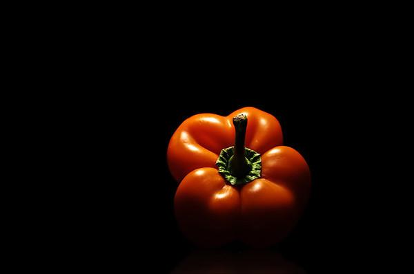 orange peppered