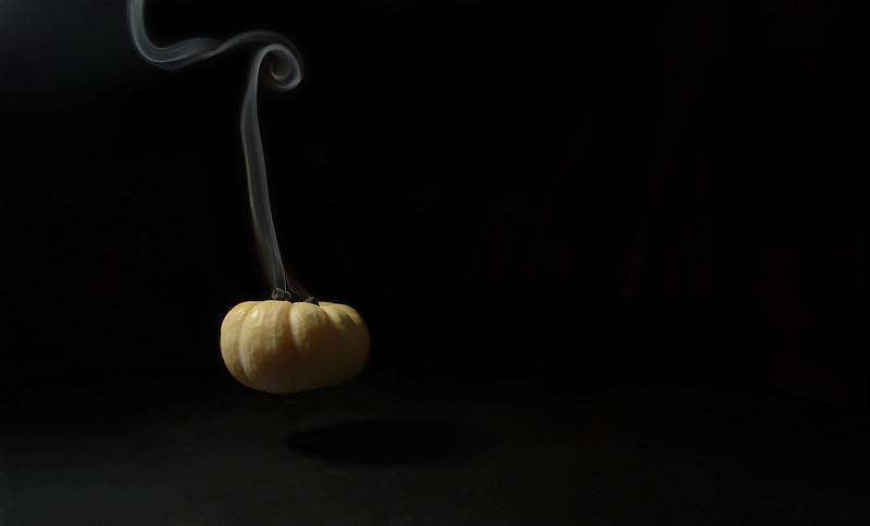 smoked pumpkin