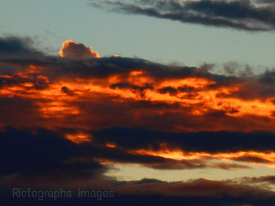 Complimentary Orange & Blue Sky