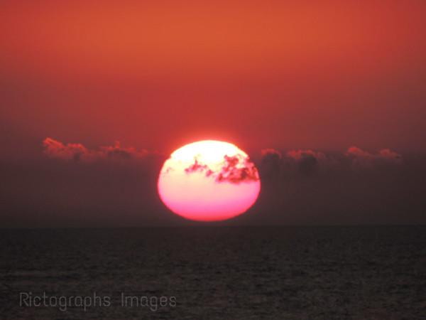 Lake Huron Sun Set; Summer 2015, Ric Evoy